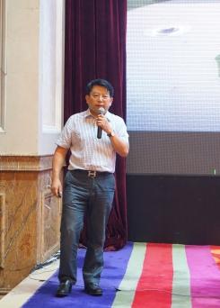 重庆联盛建设项目管理有限公司董事长雷开贵作做题报告