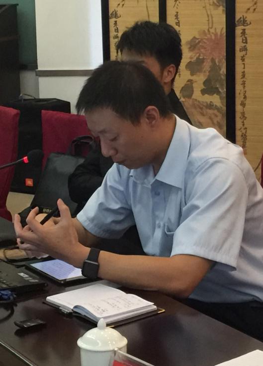 云南城市建设工程咨询有限公司常务副总监郑煜做调研交