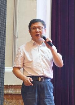 江苏建科建设监理有限公司董事长陈贵做专题报告
