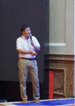 广州市市政工程监理有限公司董事长戴飞做专题报告