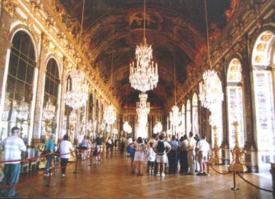 富丽堂皇的凡尔赛宫 一图片