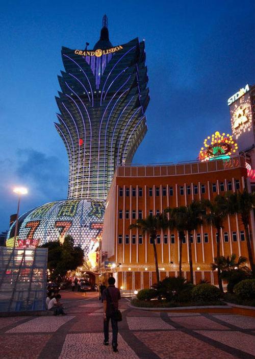 新葡京酒店,地点:中国澳门