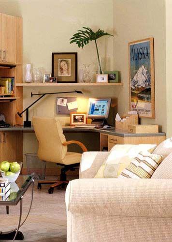 6款家庭小书房的家具搭配
