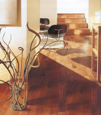 木地板花色家具巧搭配