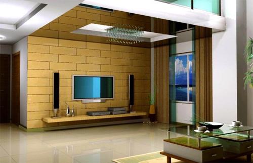 电视背景墙的装饰方法(4)