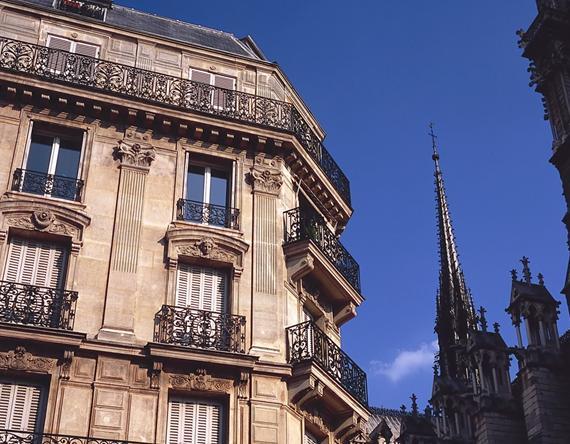 巴黎的建筑风格