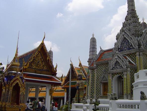 泰国玉佛寺建筑欣赏