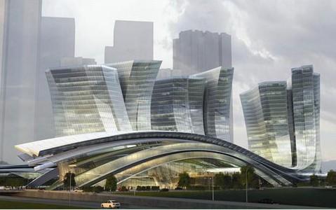 它们获得一个投资4亿美元的项目,为香港政府设计一个移民中心.