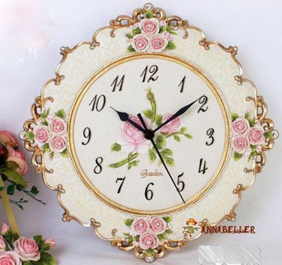 欧式复古风格钟表装饰你的美家(一)
