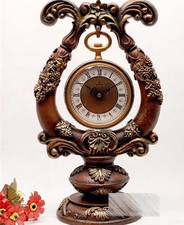 欧式复古风格钟表装饰你的美家(三)