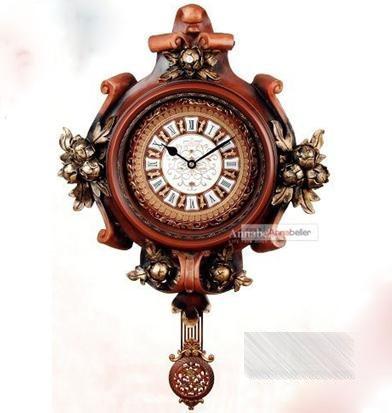 欧式复古风格钟表装饰你的美家(二)图片