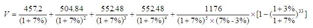 确定估价对象收益价格估价对象收益价格为