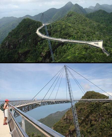 兰卡威天空之桥门票_全球十座别具一格的桥梁:兰卡威天空之桥_建设工程教育网