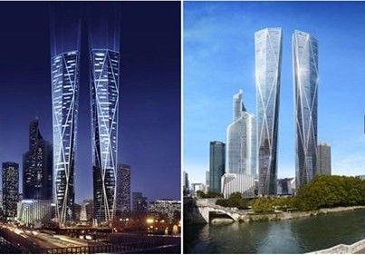 巴黎将建320米双子塔 系欧洲最高建筑