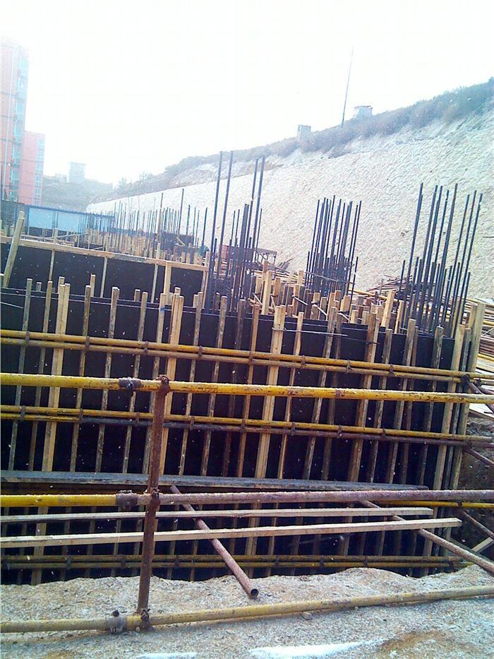 地下室剪力墙模板安装2