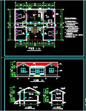 一层平房农村住宅设计