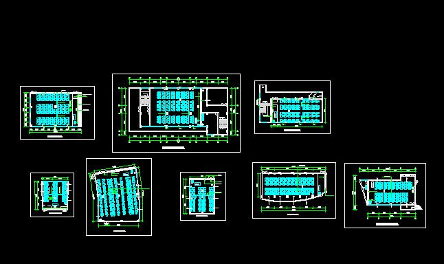税务局电教室平面布置图