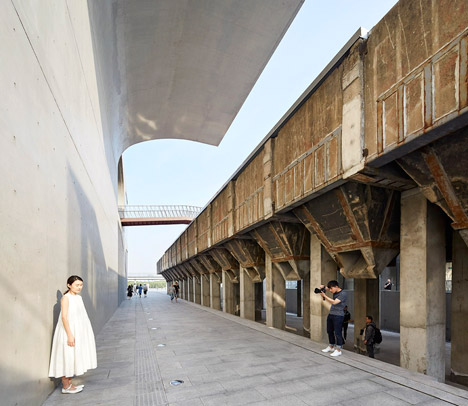 大舍建筑设计事务所招聘的广州龙美术馆上海亚美建筑设计院设计图片