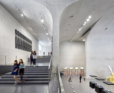 大舍建筑设计事务所设计的上海龙美术馆
