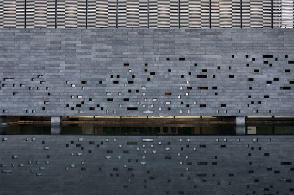 中国南通——范曾艺术馆庭院