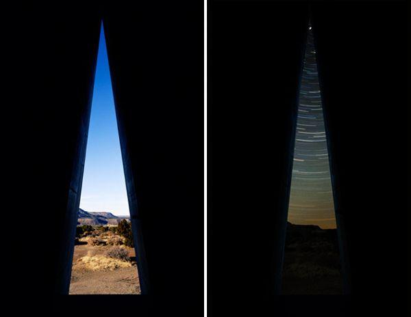 在太阳金字塔内部,一间有着狭长三角形洞口的暗室形成了钟头室.