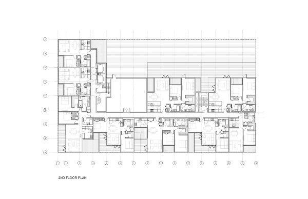 纽约圣马可塔楼平面图