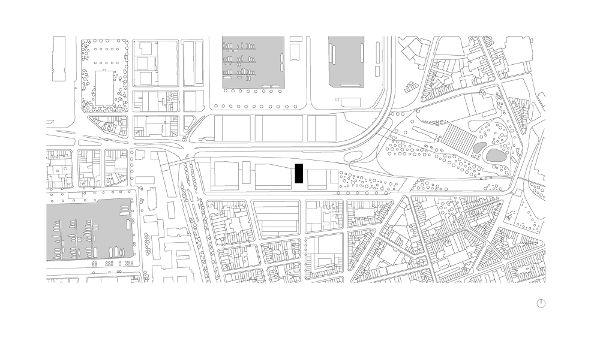 平面图-比利时安特卫普 公园塔楼图片