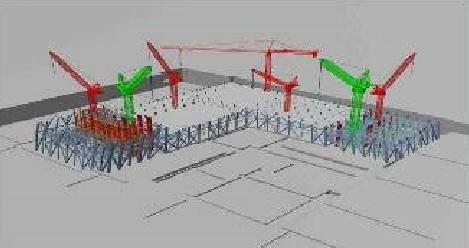 cctv新总部大楼钢结构安装施工顺序