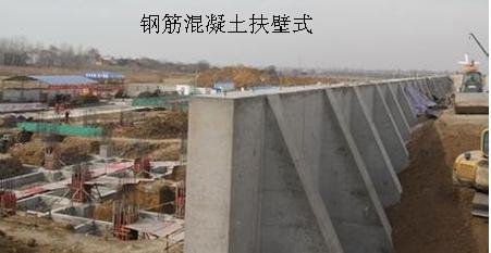 一级建造师考试复习重点:挡土墙结构形式及分类