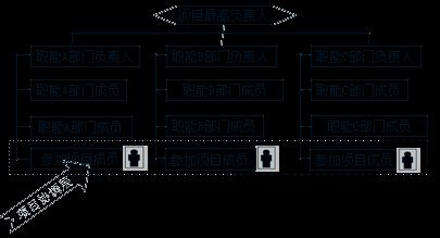 【题库】咨询工程师组织管理高频考点:弱矩阵式项目管理组织结构