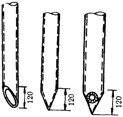 接地线安装图; 接地引下线测试仪; 3.7避雷针制作与安装: 3.7.