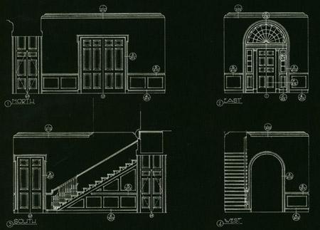 新古典学者建筑设计图(二)