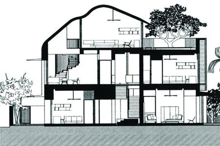 亚洲建筑设计图(三)