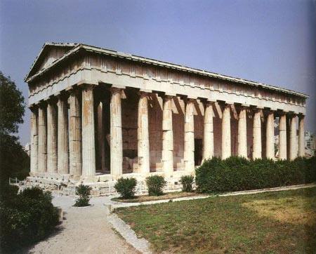 古希腊建筑欣赏图片