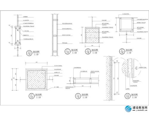 建筑剖立面图(三)