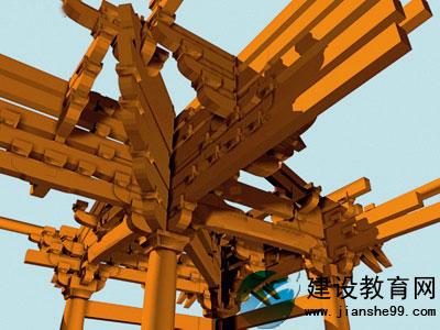 而中国传统木结构建筑