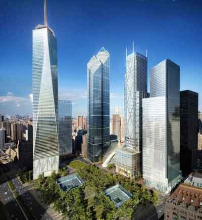 曼哈顿双塔在9·11恐怖袭击中轰然倒塌,至今已过5年了,目前对世贸