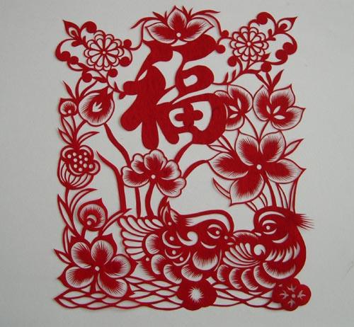春节民俗的简笔画-新年给家一个中国表情 喜庆十足年味四溢
