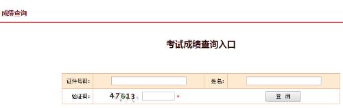 淮北2019年安全工程师成绩查询入