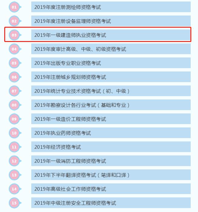 辽宁2019年一级建造师考试成绩合格人员公示(2858人)