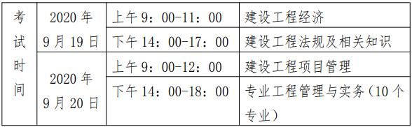 贵州关于做好2020年度一级建造师职业资格考试报名工作的通知